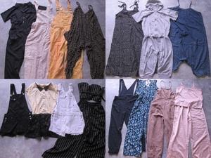 サロペット ジャンプスーツ オールイン オーバーオール セットアップ jumpsuit 福袋 まとめ売り 35枚 セット 大量 洋服 古着 卸 仕入れ 15H