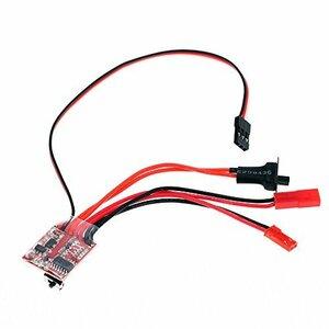 GoolRC RC ESC 20A ブラシモーター スピードコントローラー 切り替え可能 ブレーキ付 RC ラジコン カー ボー