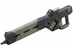 01 バーストレールガン M.S.G モデリングサポートグッズ ウェポンユニット01 バーストレールガン 全長約125mm NO