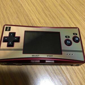 ゲームボーイミクロ ファミコンカラー