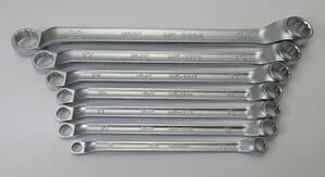 『10円オークション』KTC M5-08~24mm ロングめがねレンチ 7本セット