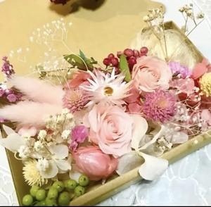 ベビーピンクローズ*花材詰め合わせ