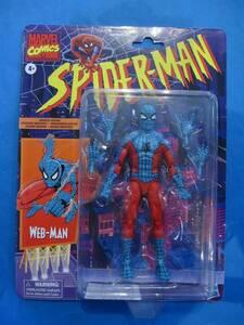 未開封 ハズブロ マーベルレジェンド ウェブマン WEB-MAN 6インチ フィギュア MARVEL スパイダーマン webman