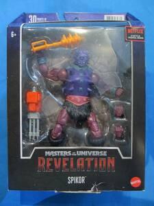 マスターズ・オブ・ザ・ユニバース リベレーション 黙示録 マテル MOTU Masters of the Universe【スパイカー】 ※パッケージダメージあり