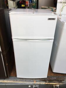 【家電】 冷凍 冷蔵庫 BESTEK 小型 2ドア 102L 高年式 2018年 直冷式 BTMF213 静音 耐熱天板
