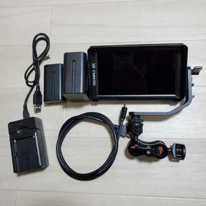 Feelworld F6 4K カメラモニター おまけ多数 すぐ使えます
