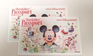 13260☆東京ディズニーリゾート ディズニーランド ディズニーシー 株主用パスポート 2枚