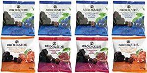 ブルックサイド ダークチョコレート 8袋セット(アサイー&ブルーベリー4袋、ブラッドオレンジ&ピーチ2袋、ザクロ2袋)