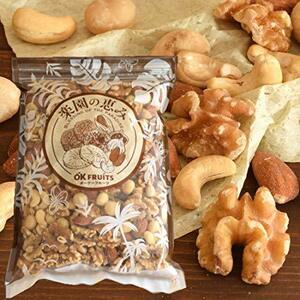 ミックスナッツ(アーモンド・カシュー・クルミ・マカダミア) ロースト 無添加・無塩 最高級4種ミックスナッツ 1kg