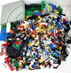 1円スタート LEGO レゴ ブロック パーツ 部品 人形 プレート など 約7.1kg 大量まとめ セット おもちゃ まとめ売り 玩具