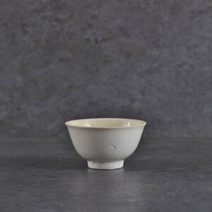 南京白磁碗形盃