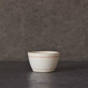 赤輪線文盃 味の素食卓容器