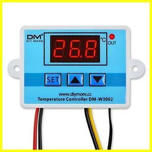 ★色:W3002AC110-220V★ DiyStudio XH-W3002 AC 110V-220V 温度コントローラーデジタル LEDディスプレイ