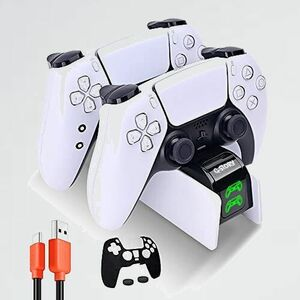 未使用 新品 PS5充電スタンド G-STORY 7-ZD 過充電防止 オリジナルデザイン コントロ-ラ- 充電器 急速充電