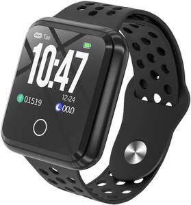 【送料無料】 スマートウォッチ 3 心拍計 万歩計 活動量計 IP67防水 睡眠モニター 健康管理 着信通知 女性生理期管理 iPhone Android対応