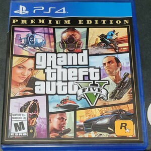 Grand Theft Auto V グランドセフトオート5 グラセフ GTA5 PS4 北米版