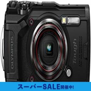 ブラック OLYMPUS デジタルカメラ Tough TG-6 ブラック 1200万画素CMOS F2.0 15m 防水 100