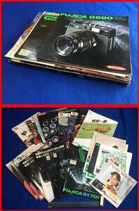 z911[ Showa Retro * camera catalog ][ Fuji ka36 pcs. set!!]