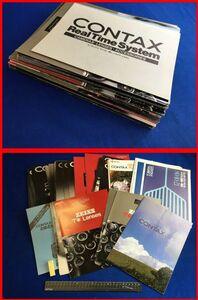 z921[ Showa Retro * camera catalog ][ Contax CONTAX 38 pcs. set!!]