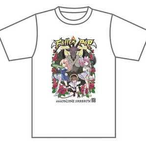 ライブ映像付フォーリンポップ666Tシャツ 邪神ちゃんドロップキック