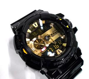 G-SHOCK 腕時計 GBA-400 G'MIX Bluetooth対応 黒/ゴールド CASIO カシオ Gショック ブラック 札幌市東区 新道東店