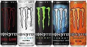 355ミリリットル (x 20) 【Amazon.co.jp限定】 アサヒ飲料 モンスター アソート20本飲み比べセット(エナジ