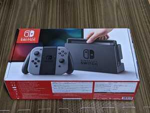 【中古美品】Nintendo Switch ニンテンドースイッチ本体 グレー