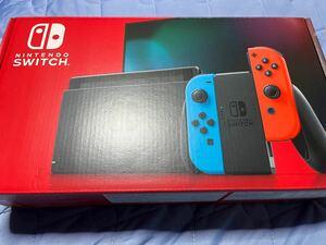 Nintendo switch 新モデル ネオンブルー ネオンレッド