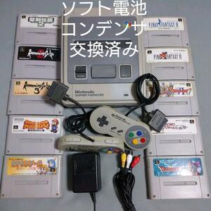 スーパーファミコン 本体RPGソフト10本セット