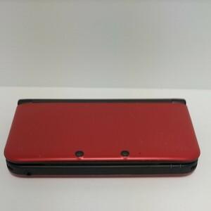 Nintendo 3DS LL ブラック×レッド ジャンク品