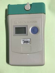 日本光電 医療用テレメーター 送信機 ZB-930P 心電図、呼吸、SPO2(2083)