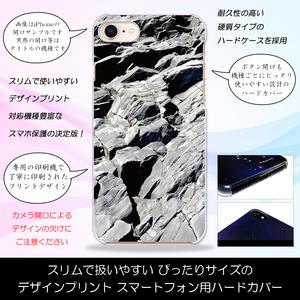 Galaxy A21 SC-42A ハードケースプリント スマホ カバー ストーンヒル 岩の丘 ロック 総柄 おしゃれ