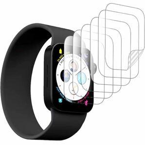 【6枚入り】Apple Watch 41mm 用 フィルム Yinxim Apple Watch Series7 41mm 用 保護フィルムTPU製 曲面を全面カバー