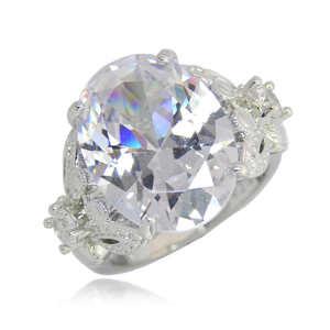 憧れの最上級 11号 CZダイヤモンドリング 極大粒 絢爛 レディース 豪華 厳選 オススメ 新品未使用 限定 極美 超美品 プラチナ仕上 刻印有