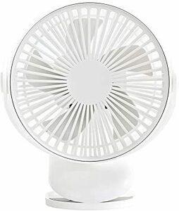 ホワイト 4000mAh LIMSTYLE 2021最新型 扇風機 卓上扇風機 クリップ扇風機 ミニ扇風機 usbファン 着脱可