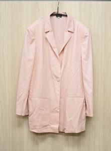 【ヘルノ HERNO】 ジャケット 薄ピンク カシミヤ イタリア製 サイズ46 レディース◆エントランス◆I211015-02◆