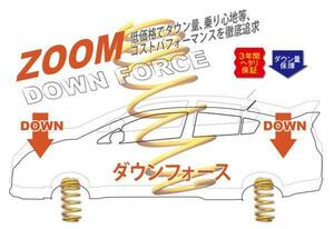[ZOOM]RD6 CR-V(2WD)用ダウンサス