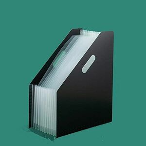 好評 新品 書類ケ-ス ドキュメントスタンド G-SR 大容量 (黒) 13ポケット A4 ファイルボックス 自立型 書類/ファイル整理 収納