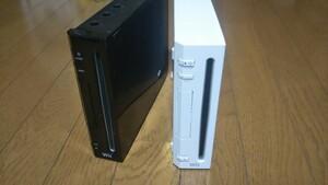 Wii 2台 セット 中古品 Nintendo 任天堂 ニンテンドー 本体のみ 動作確認済み