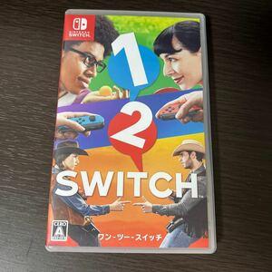 ワンツースイッチ Nintendo Switch 1-2-Switch 任天堂 ソフト