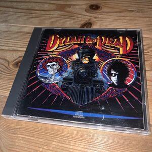[送料無料] BOB DYLAN「DYLAN & THE DEAD」US盤7曲入CD・1989年発売(1987年収録作品)[CK 45056]※中古CD / ボブ・ディラン / Live