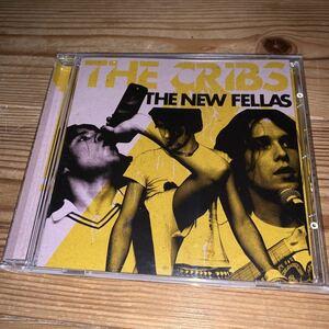 [送料無料] The CRIBS「THE NEW FELLAS」日本盤24(11+13:Bonus Tracks)曲入CD・2006年発売(2005年作品)[V2CP 264]※中古CD