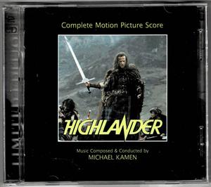 【2CD】ハイランダー 悪魔の戦士(完全盤:2枚組)/マイケル・ケイメン&クイーン