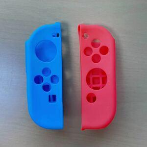 Nintendo Switch ジョイコン シリコンカバー ネオンブルー ネオンレッド