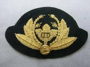 ■鉄道公安職員 公安室長 冬服 階級章レプリカ■新品