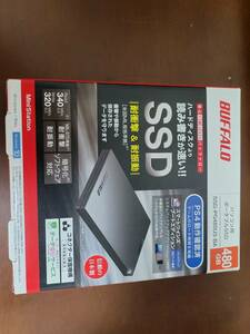 [ новый товар * не использовался ] персональный компьютер для портативный SSD Buffalo SSD-PG480U3-BA 480GB