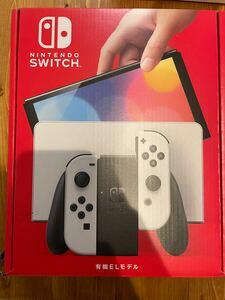 Nintendo Switch ニンテンドースイッチ 未開封 有機ELモデル ホワイト 店舗保証印あり