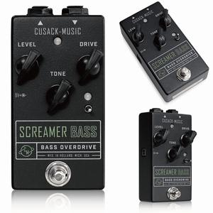 最落無し! Cusack Music Screamer Bass / a36632 チューブスクリーマーインスパイア系オーバードライブ! ベース用 1円