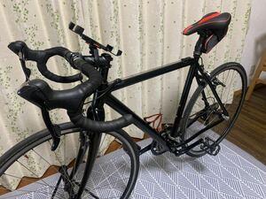 最終値下げ出品ロードバイク★スペシャライズドフレーム★ブラック×レッド フレーム550mm