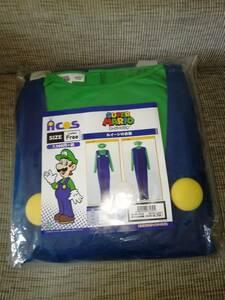 ACOS製 スーパーマリオ ルイージの衣装 フリーサイズ コスプレ衣装 新品 アコス 公式 グッズ 任天堂 仮装 ルイージ Nintendo